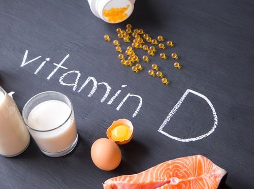 Vitamin D food products