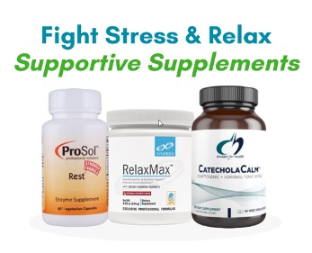 Dietary supplements - Fight Stress & Relax